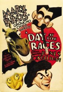 A Day At The Races bedroom poster