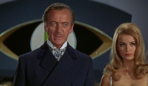David Niven= Ian Fleming's vision of James Bond