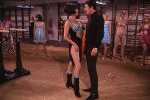 Some spy training with the Bond girls looks more like a lingerie runway show