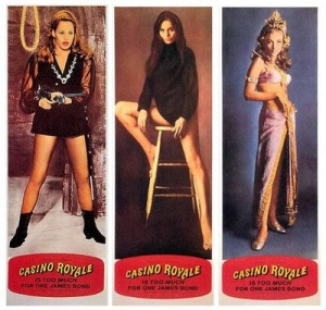 "The ""Bond girls"" of CASINO ROYALE (1967) poster"