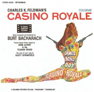 Burt Bacharach's music for CASINO ROYALE earned both Oscar and Grammy noms
