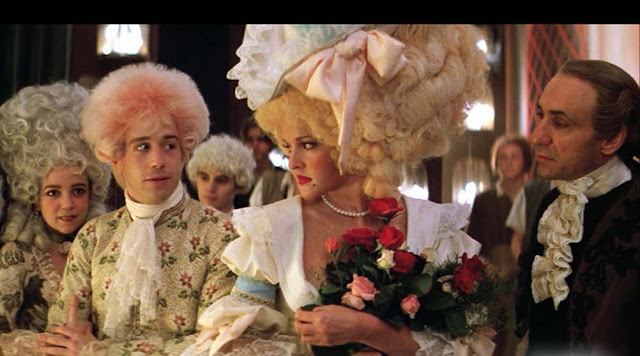 highlighting the characters in the movie amadeus 35 visual language 351 costumes and make-up amadeus on screen is a very colourful costume drama displaying elaborate, rich costumes and wigs they are, in fact, so elaborate and.