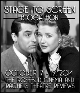 Stage to Screen blogathon banner