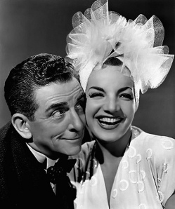 Edward Everett Horton and Carmen Miranda