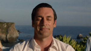 Jon Hamm as Don Draper finds long overdue inner peace and love... in California. 7th Season, Episode 14 - Photo Credit: Courtesy of AMC