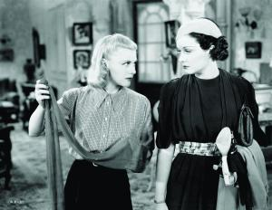 Ginger Rogers and Gail Patrick sling insults