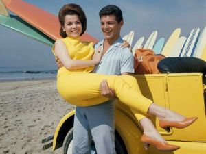 The colors were always vibrantly bright- on swimwear, sweaters, capris, surf boards, even their vehicles.