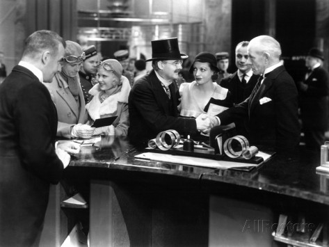Grand Hotel 1932 Outspoken And Freckled