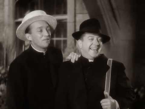 Frank McHugh (R) in Going My Way (1944)