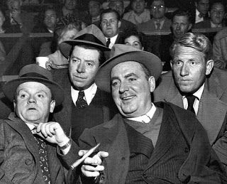 Hollywood's Irish Mafia_All Irish Americans the original members of the group were Cagney, McHugh, O'Brien & Tracy_ Ralph Bellamy and Frank Morgan joined later
