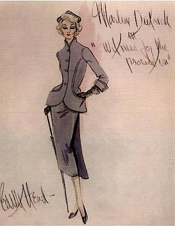The Sketch Artist_ 18 Classic Film Costume Designs by Edith Head